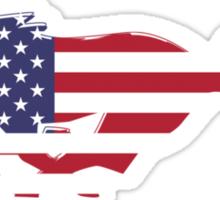 American Mustang Sticker