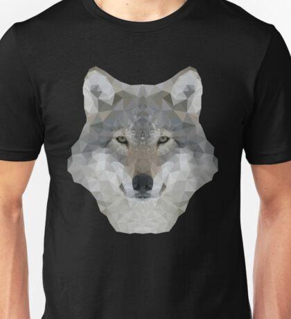 Gray Wolf Portrait Unisex T-Shirt