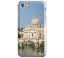 Sunday morning in Rome iPhone Case/Skin