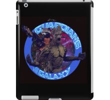 Groot and Rocket - Guardians of the Galaxy iPad Case/Skin