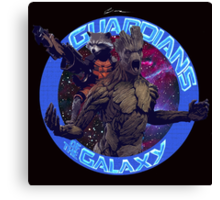 Groot and Rocket - Guardians of the Galaxy Canvas Print