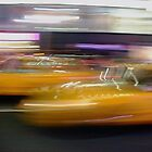 Yellow Cab Times Square by Robert Steadman