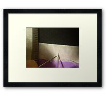 Origami Surgery Framed Print