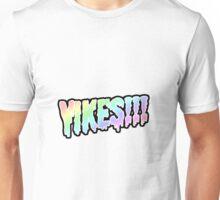 yikes!!!!!!!!!! rainboww Unisex T-Shirt