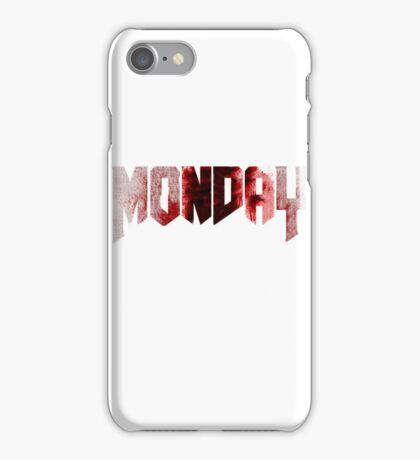 monday iPhone Case/Skin