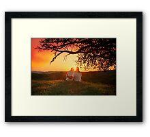 That loving feeling Framed Print