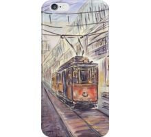 Old tram iPhone Case/Skin