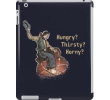 The Atomic Wrangler Has You Covered iPad Case/Skin