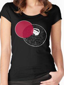 Weirdo With A Beardo  Women's Fitted Scoop T-Shirt