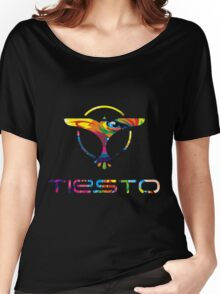 TIESTO COLORS Women's Relaxed Fit T-Shirt