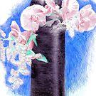 Ikebana on Acetate by Mui-Ling Teh