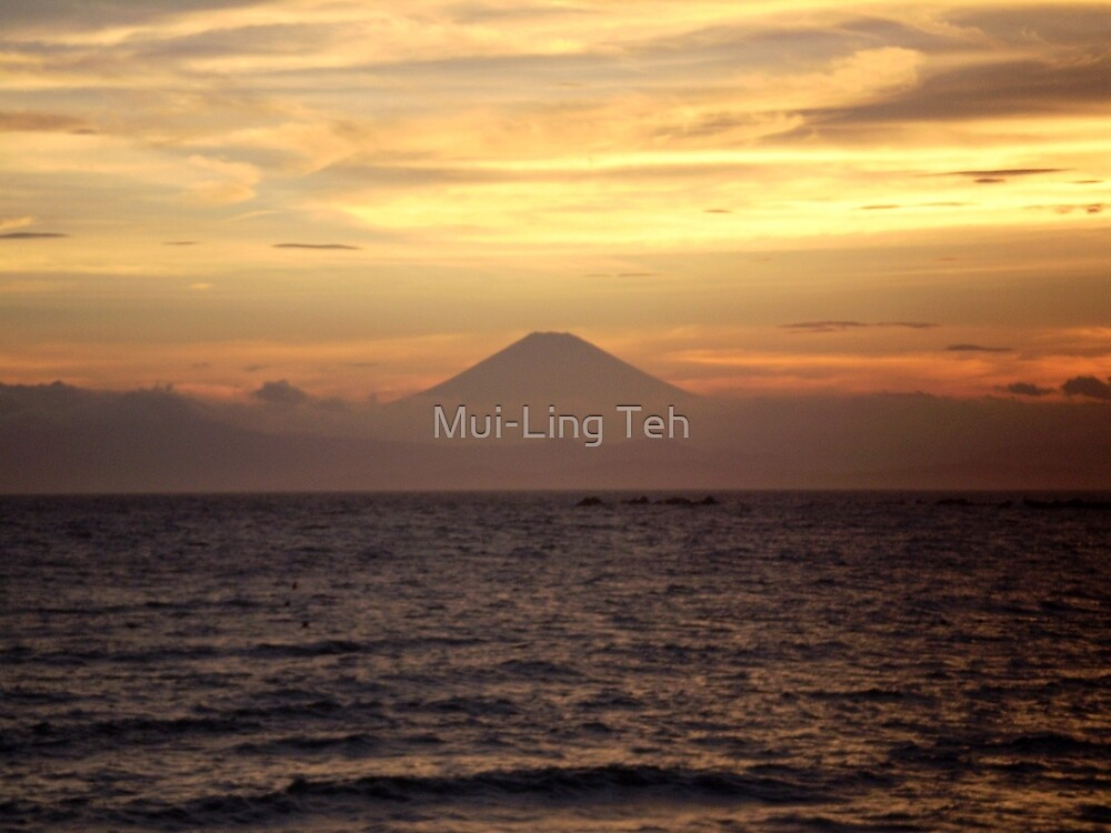 Mt. Fuji Sunset V by Mui-Ling Teh