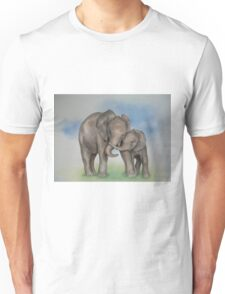me and my mom. Unisex T-Shirt