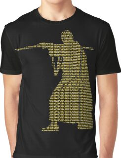 Star Wars Rogue One Quote Chirrut Imwe Donnie Yen The Force Graphic T-Shirt