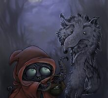 Bad Wolf Meets Little Red by Ma. Luisa Gonzaga
