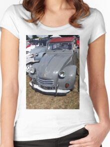 "Citroën  ""Fan the Collector 2 cv "" fz 200 Olao-Olavia by Okaio Créations   c4 (h) Women's Fitted Scoop T-Shirt"