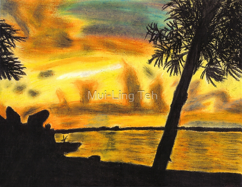 Florida Sunset by Mui-Ling Teh
