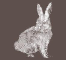 White Rabbit (Monochromatic Hue Series) Kids Clothes
