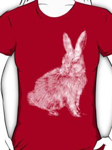 White Rabbit (Monochromatic Hue Series) T-Shirt