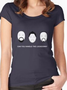 "Ghost Adventures ""Can you handle the lockdown?"" Women's Fitted Scoop T-Shirt"