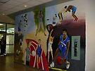 Gym mural by Mui-Ling Teh