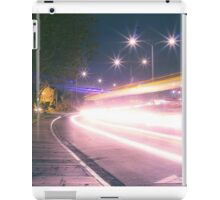 Light streak  Long exposure  iPad Case/Skin