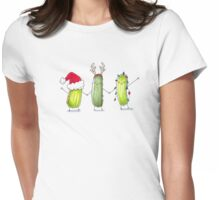 Happy Holi-Dills! Womens Fitted T-Shirt