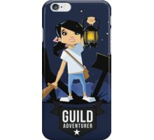 Girl Adventurer iPhone Case/Skin