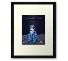 Fight On Mega Man... Framed Print