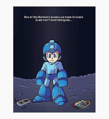Fight On Mega Man... Photographic Print