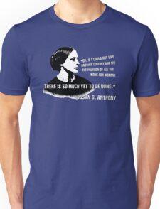 Revolutionary Women: Susan B. Anthony Unisex T-Shirt