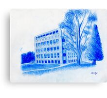 Exeter Library Canvas Print