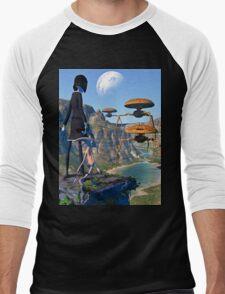You and Me vs The World Men's Baseball ¾ T-Shirt