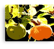 DAYS OF THE FRUIT Canvas Print