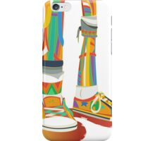 Rainbow Kicks iPhone Case/Skin