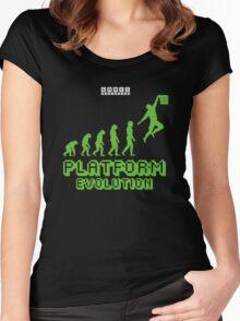 Platform Evolution Women's Fitted Scoop T-Shirt