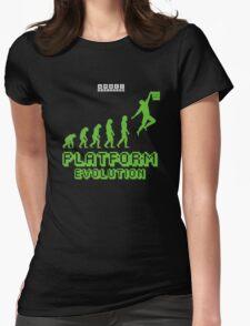 Platform Evolution Womens Fitted T-Shirt