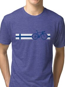 Bike Stripes Finland Tri-blend T-Shirt