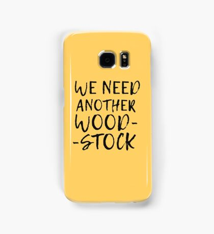 Woodstock Hippie 60s Music Peace Summer Of Love Quote Samsung Galaxy Case/Skin