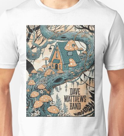 Dave Matthews Band, Tour 2016, SARATOGA PERFORMING ARTS CENTER SARATOGA SPRINGS NY Unisex T-Shirt