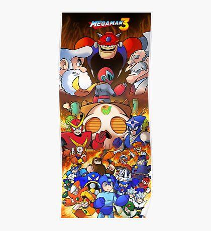 Mega Man 3 Poster