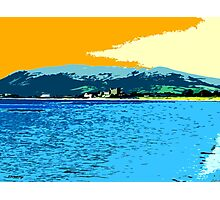 GREENCASTLE BY THE SEA Photographic Print