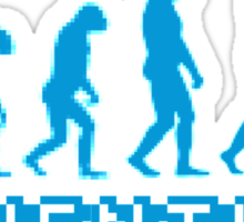 Adventure Evolution Sticker