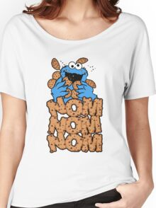 Cookie monster - Nom Nom Nom Women's Relaxed Fit T-Shirt