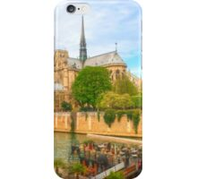 Notre Dame & the River Seine iPhone Case/Skin