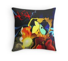 We can't stay here.....this is ghost country! Throw Pillow