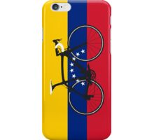 Bike Flag Venezuela (Big - Highlight) iPhone Case/Skin