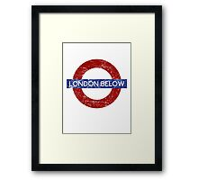 London Below Framed Print