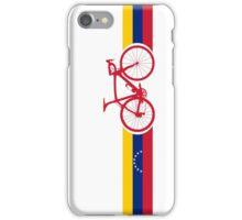 Bike Stripes Venezuela  iPhone Case/Skin