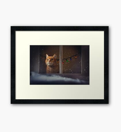Waiting For Christmas Framed Print